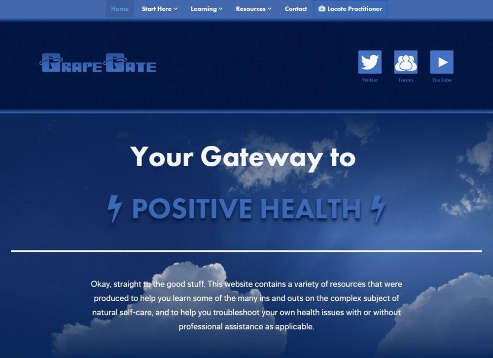 GrapeGate – A Holistic Health Education Site
