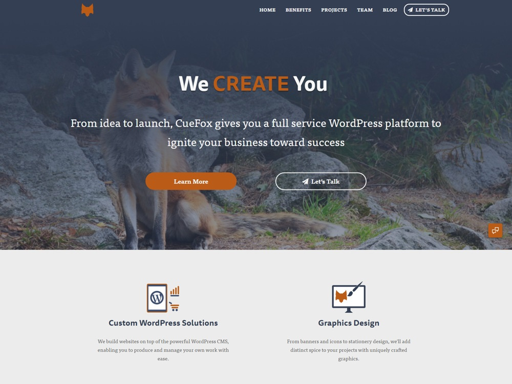 CueFox – WordPress Web Design Agency