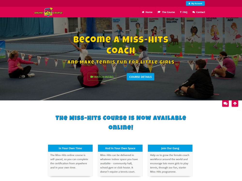 Miss-Hits Club – The Online Tennis Coach Course