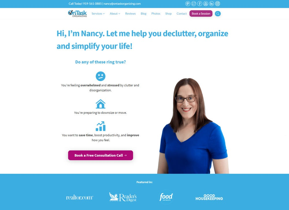 On Task Organizing – Professional Organizing Services